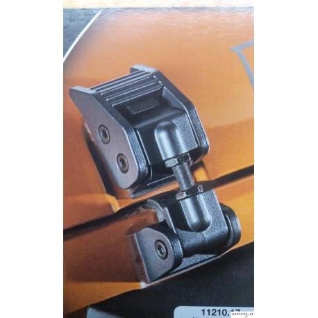 Attaches Capot Aluminium pour Jeep Wrangler JK