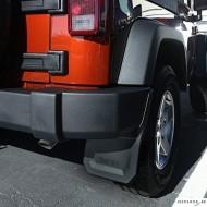 Bavettes Arrière pour Jeep Wrangler JK (2pcs)