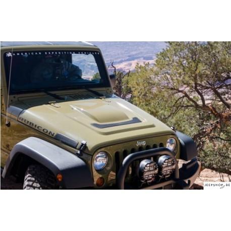 AEV Heat Reduction Hood for Jeep JK