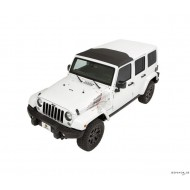 Sunrider pour Hardtop Black Twill pour Jeep JK