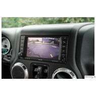 AEV Rear Vision System for JK Wrangler with Factory Nav