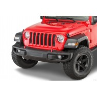 Metal 3-piece Mopar bumper for Jeep Wrangler JL