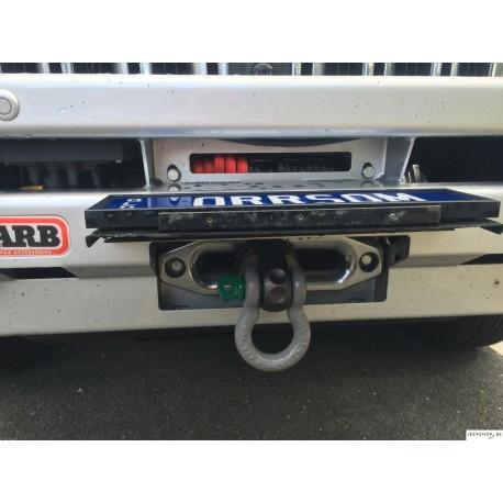 Flip-Up License Plate Holder