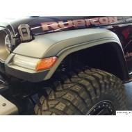 Elargisseurs d'aile +22mm pour Jeep Wrangler