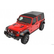 Sunrider voor Hardtop Black Twill voor Jeep JK