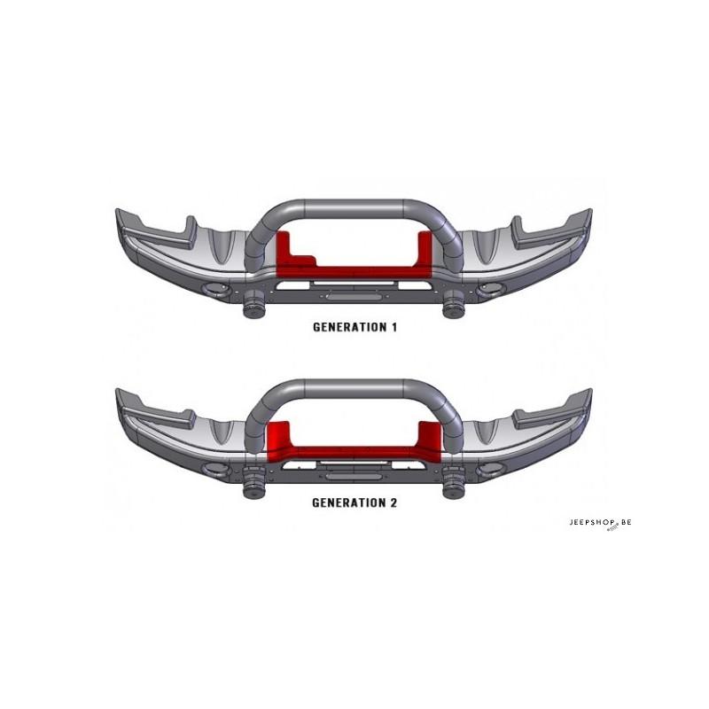aev jk front bumper cover