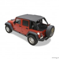 Bikini Safari Top pour Jeep Wrangler JKU 4-portes