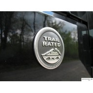 Trail Rated Badges Mopar 2pcs