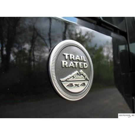 Trail Rated Badges Mopar 2pcs