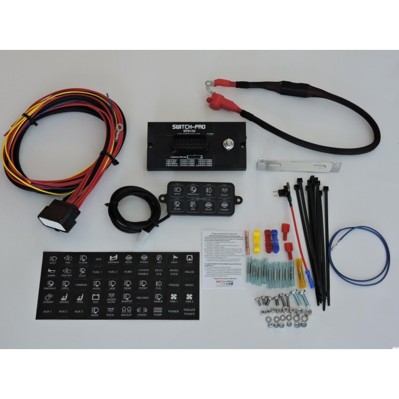 Switch Pros Sp8100 Switch Panel System Jeepshop Be