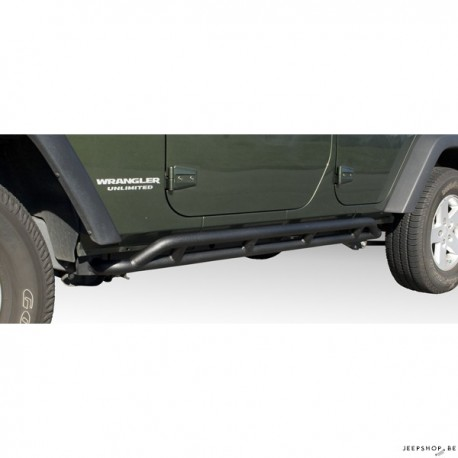 Protections de caisse RRC Rocker Guards pour Jeep JK Unlimited