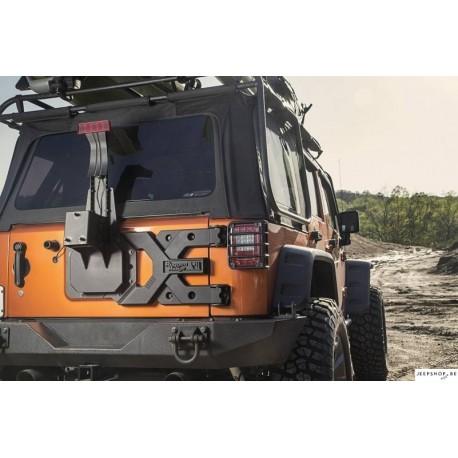 Spartacus HD Tire carrier Kit pour JK