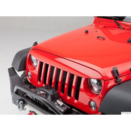 Casquette pour Calandre nighthawk pour Jeep JK