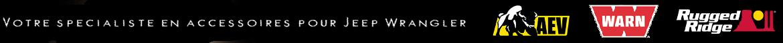 Accessoires & Equipements pour Jeep Wrangler JK