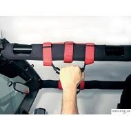 Red Grab Handles Jeep Wrangler (2pcs)