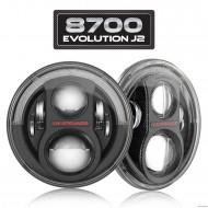 Phares LED JW Speaker J2 (2pcs) ECE RHT pour Jeep Wrangler