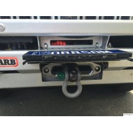 Flip-Up License Plate Holder