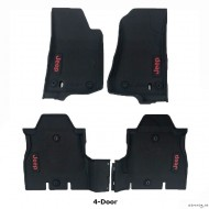 Floor liners for Jeep Wrangler JL