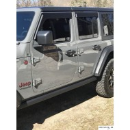 Window rain deflectors Jeep JL ( 4 doors )