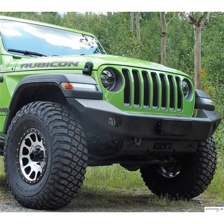 Rock's Challenger Aluminium fornt bumper for Jeep JL/JT