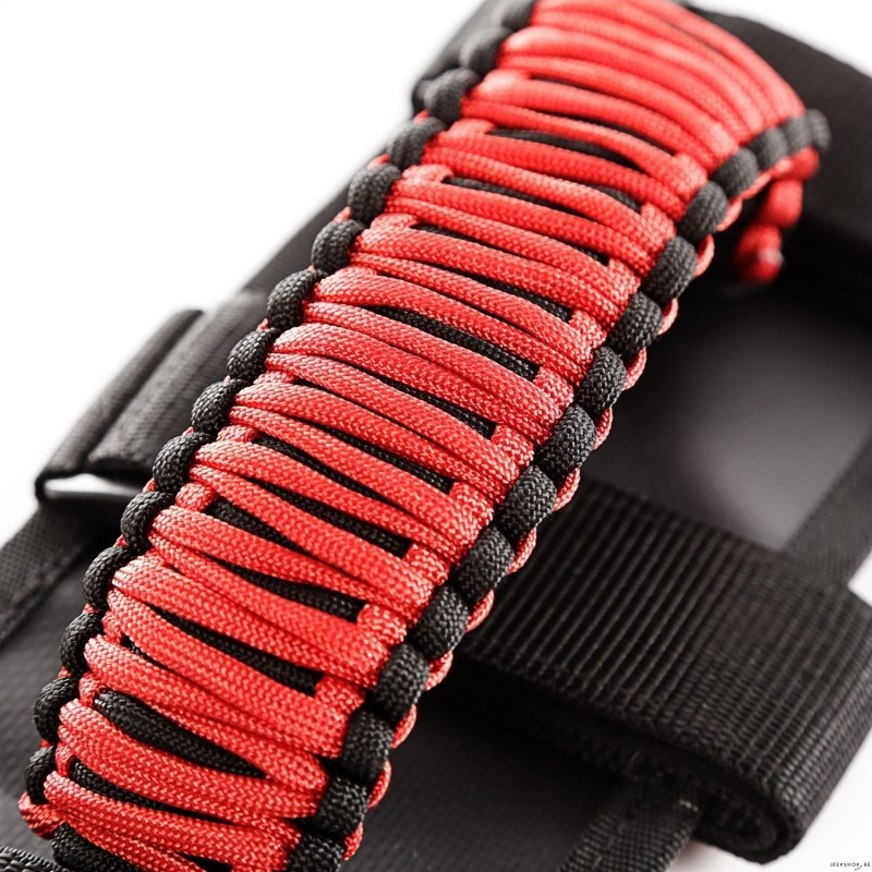 Paracord Handle Grips For Jeep Wrangler 2pcs Jeepshop Be