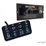 Switch-Pros SP8100 Bedieningspaneel voor Electronica