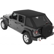 Bestop Trektop NX soft top for Jeep Wrangler JL Unlimited 2018+