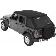 Bestop Trektop NX soft top for Jeep Wrangler JL Unlimited 2018+
