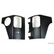 Protection d'angles Jeep Wrangler JK 4 portes