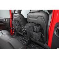 Seatback storage bag system Jeep JL / JT (2 stucks)