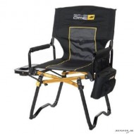 ARB Compact Directors camping chair high back (max 150kg) (incl small table)