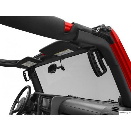 Black Aluminum Metal Front Grab Handle Kit (2pcs)