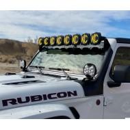 Barre LED KC HiLites Gravity Pro6 LED pour Jeep JL/JT