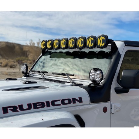 LED Lightbar KC HiLites Gravity Pro6 LED for Jeep JL/JT