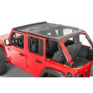 Mesh sun bonnet top for Jeep Wrangler JL 4-portes