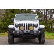 Arb Deluxe front bumper with A-bar for Jeep JL/JT