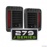 JW Speaker model 279 LED Taillights for JK (ECE-2pcs)
