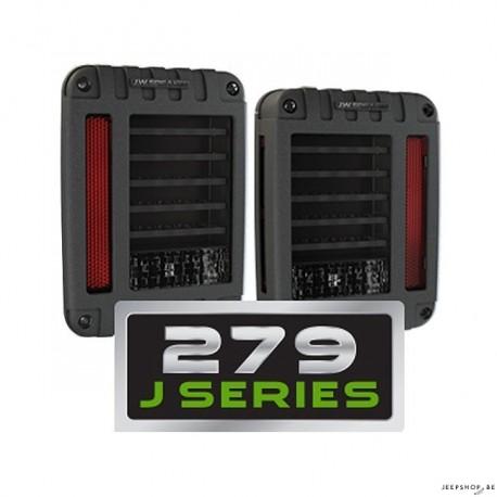 JW Speaker model 279 LED Taillights for JK (ECE-2pcs)